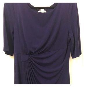 Purple Slip-on Dress